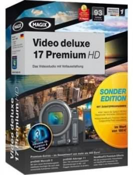 MAGIX Video Deluxe 17 Premium HD Special Edition Full