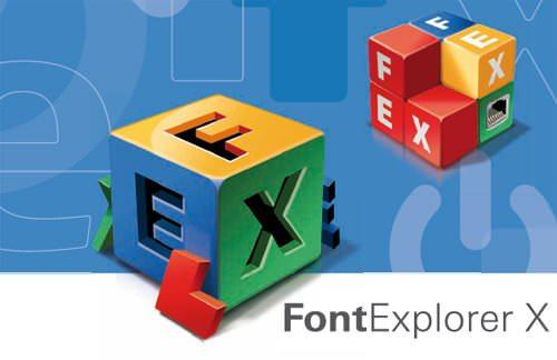 FontExplorer X PRO 2.6 Full indir