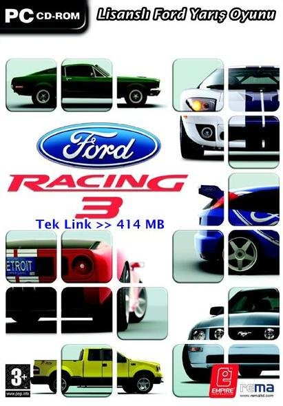 Ford Racing 3 - Lisanslı Ford Yarış Oyunu Tek Link