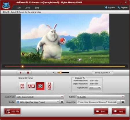 4Videosoft 3D Converter v5.1.72