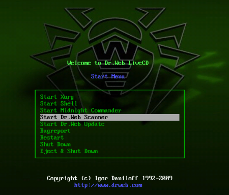 Dr. Web LiveCD 6 ISO