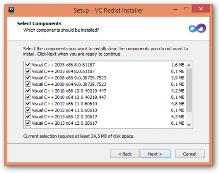 Microsoft Visual C++ Redist Installer 1.5.6 - AIO
