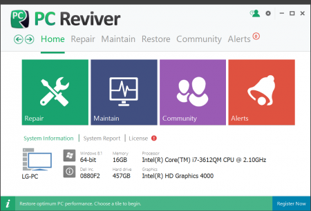 ReviverSoft PC Reviver v2.10.0.8