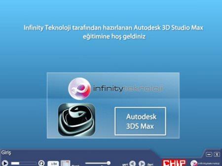 Autodesk 3D Max Eğitim Seti Türkçe