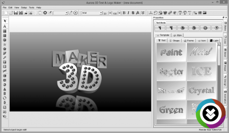 Aurora 3D Text Logo Maker v16.01.07 Full