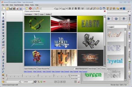 Aurora 3D Animation Maker 14 Full indir
