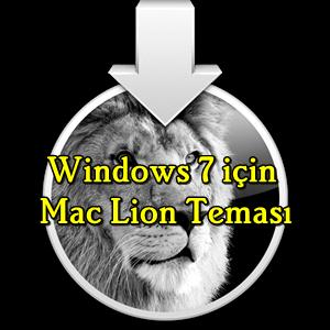Windows 7 için Mac Lion Teması