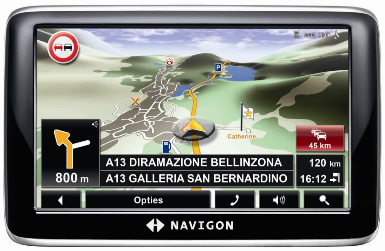 NAVIGON Europe 5.2 Full + Avrupa ve Türkiye Haritası
