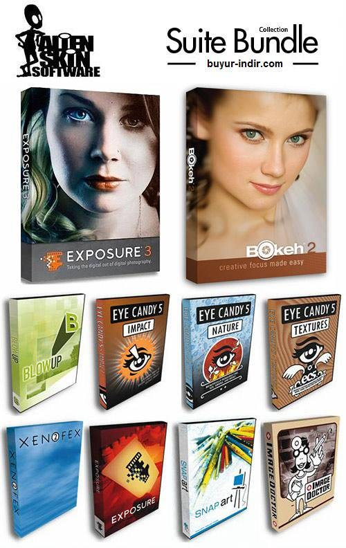 Alien Skin Software Photo Bundle Collection 2014