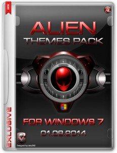 Alien Windows 7 Tema Paketi 2014 Türkçe Full indir