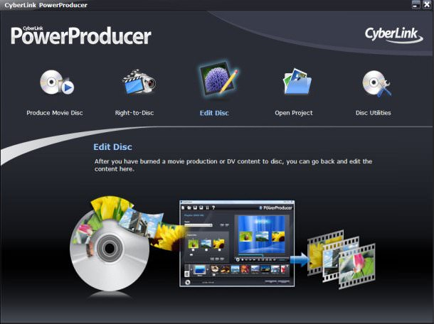 CyberLink PowerProducer Ultra 6.0 Full indir