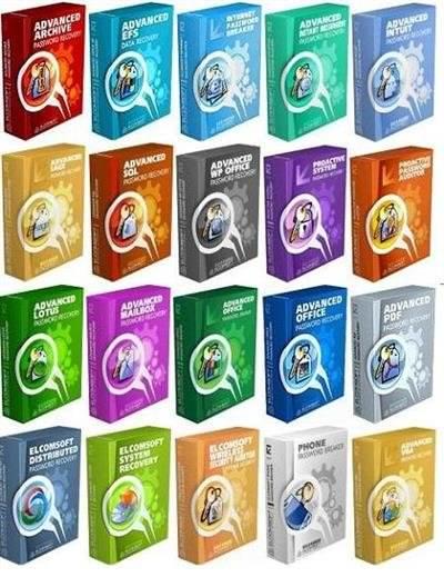 ElcomSoft Şifre Kırma Programları Paketi 2014
