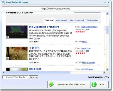 YouTubeGet v6.6.1