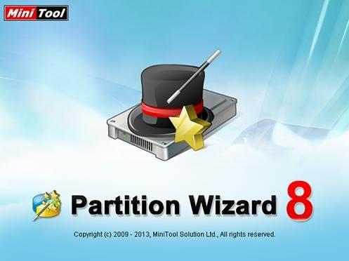MiniTool Partition Wizard Home Edition 8.1 Katılımsız