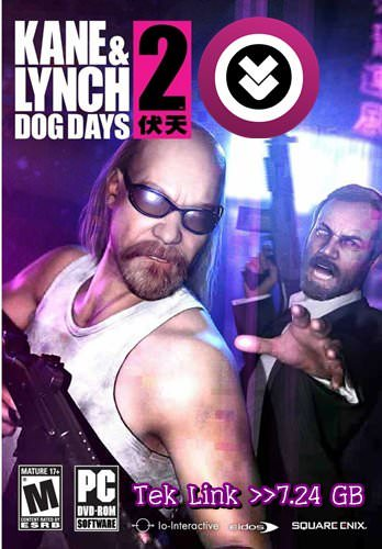 Kane & Lynch 2: Dog Days Tek Link indir