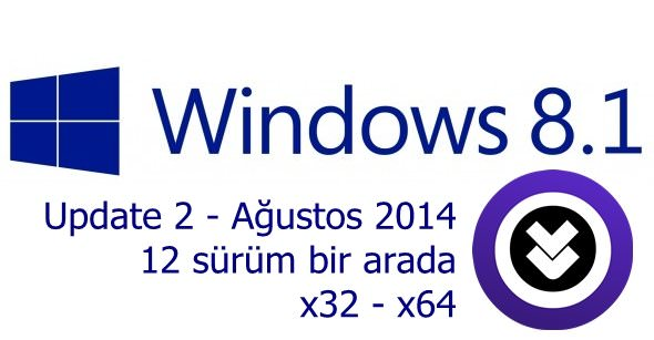 Windows 8.1 Update 2 AIO Ağustos 2014 indir