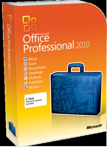Microsoft Office 2010 Professional Plus SP2 Full Katılımsız