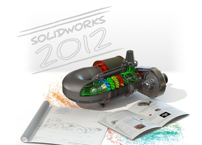 Solidworks 2012 SP1 (x32 & x64) Tek Link Full indir