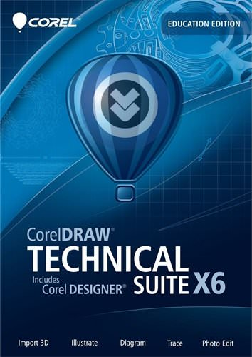 CorelDRAW Technical Suite X6 SP2 Full indir
