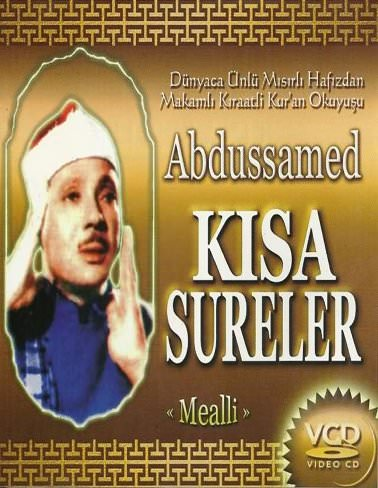 Abdussamed Kısa Sureler Video Görsel VCD