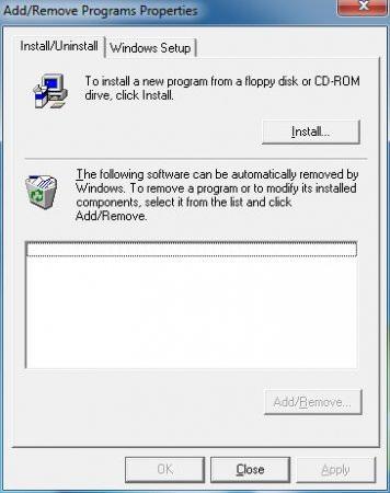 Add / Remove - Şaka Programı