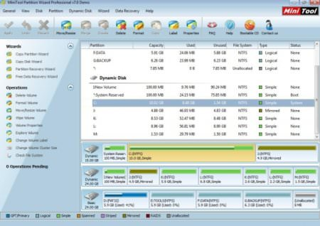 MiniTool Partition Wizard Professional Edition v10.0