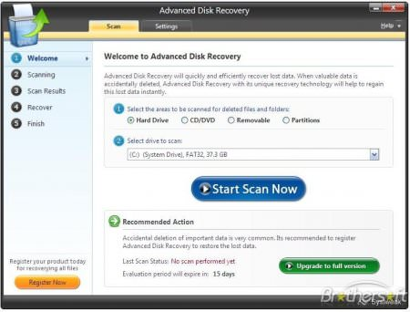 Systweak Advanced Disk Recovery 2.5 Full indir