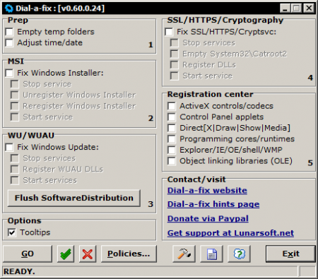 Dial a Fix - Windows Onarım Programı
