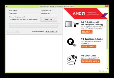 AMD Online Driver İndirici 3 Portable indir