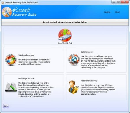Lazesoft Recovery Suite Professional Edition v4.1.0.1 Full