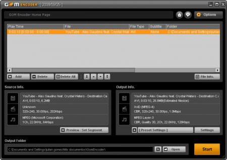 GOM Encoder 1.1.0.47 Full indir
