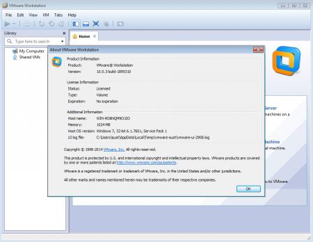 VMware Workstation 10 Lite Katılımsız indir