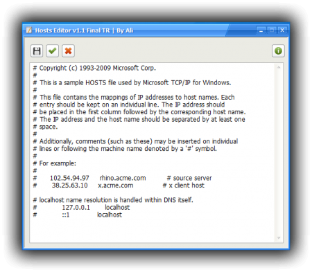 Host Editör 1.1 Portable indir