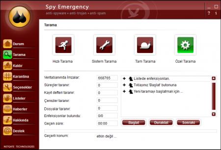 Spy Emergency 13.0 Türkçe Katılımsız Full indir