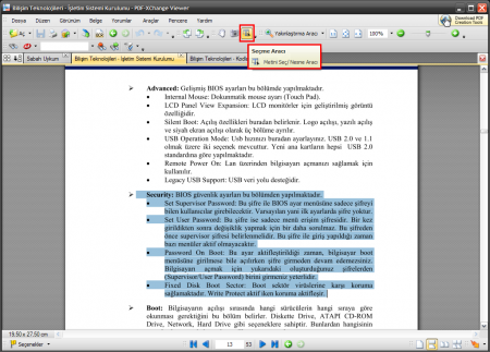 PDF-XChange Viewer PRO - Program İncelemesi