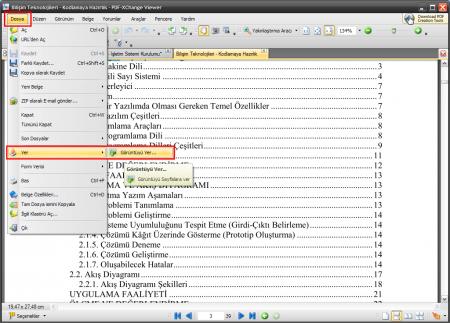 PDF-XChange Viewer PRO - Program İncelemesi