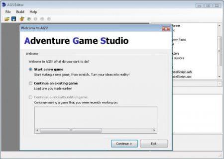 Adventure Game Studio 3.2.1 indir