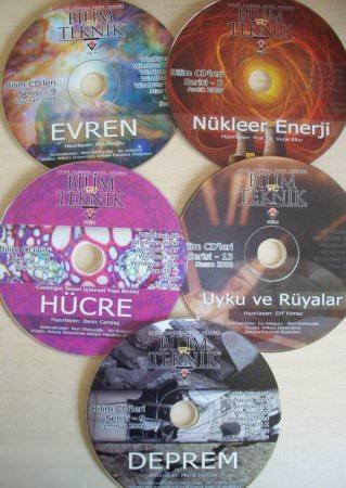Tübitak Bilim Teknik CD Serisi