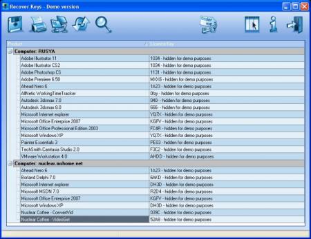 Recover Keys Enterprise 8 Full indir