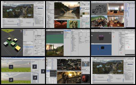 Unity 3D Pro Videolu Görsel Eğitim Seti