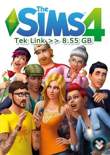 The Sims 4 Tek Link Full indir