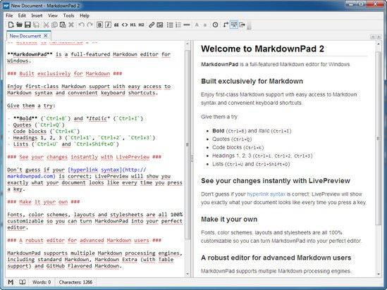 MarkdownPad Pro v2.4