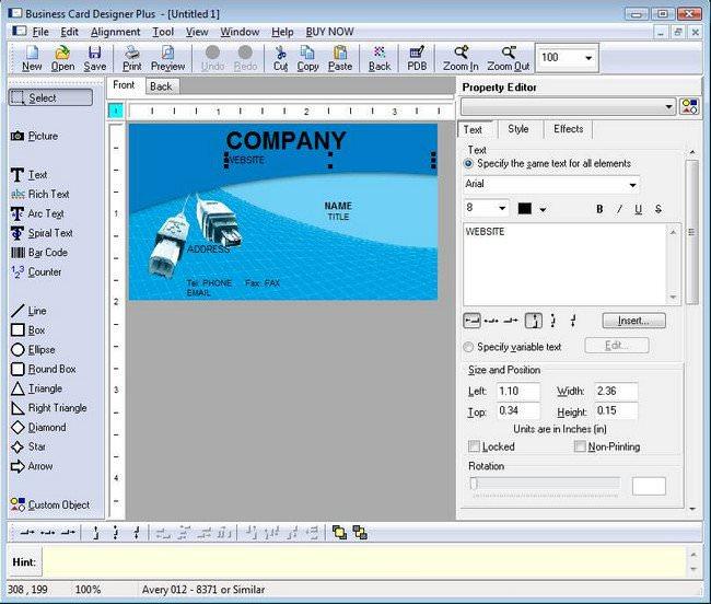 Business card designer plus 1151 full indir reheart Gallery