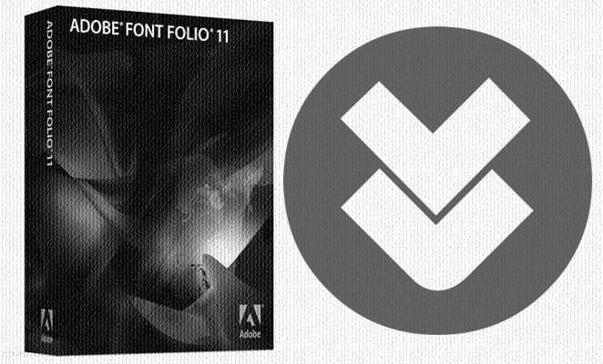 Adobe Font Folio 11 Full indir