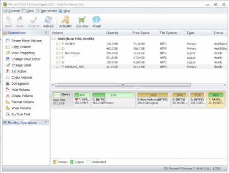 Macrorit Disk Partition Expert v3.9.8