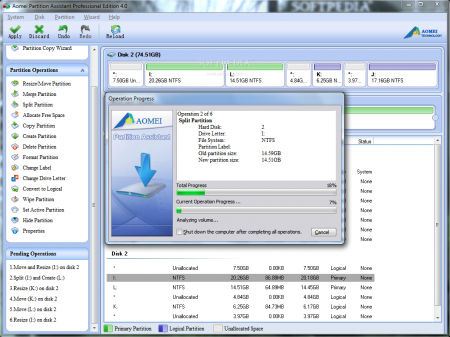 Aomei Partition Assistant Server v5.5.8 Full indir