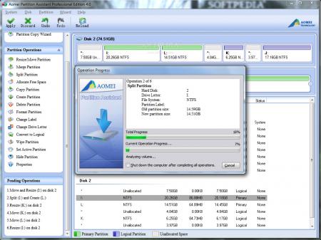 AOMEI Partition Assistant v7.0