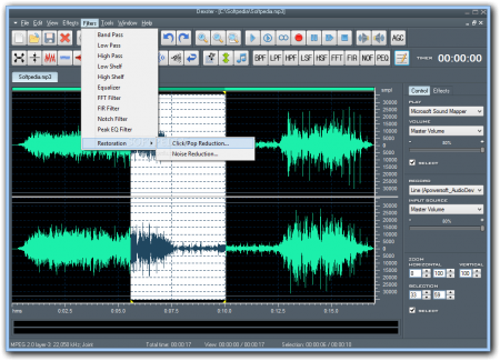 Dexster Audio Editor v4.3 Full indir
