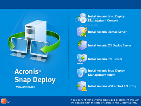 Acronis Snap Deploy 5.0 Boot CD