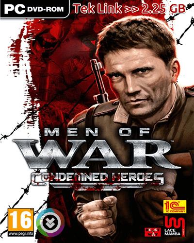 Men of War Condemned Heroes Tek Link Full indir